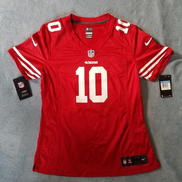 newest 0c60c 1aad6 Nike San Francisco 49ers Jimmy Garoppolo Jersey NWT